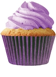 Purple Standard Cupcake Liners 30 Count