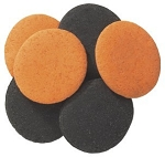Jumbo Black & Orange Halloween Quins 5.2oz