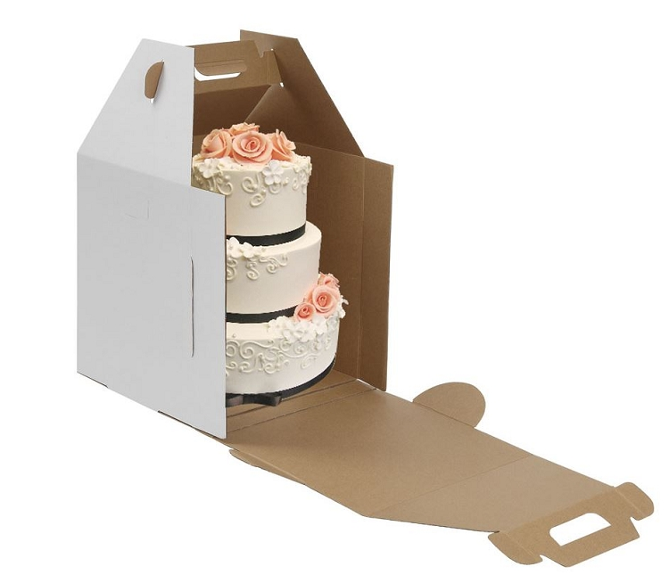 Tall Cake Boxes With Handle Set of 10