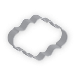 Plaque Oval Cookie Cutter  4