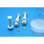 PME Mini Star Shape Plunger Set