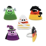 Cupcake Rings: Candy Corn Characters 12pc