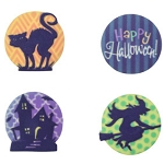Sugar Soft Cupcake Toppers: Happy Haunting 12pc