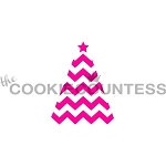 Christmas Tree Cookie Stencil