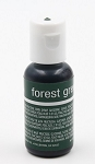Chefmaster Liqua Gel 0.70oz : Forest Green