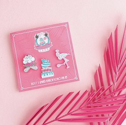 SoFlo Limited Edition Pins 3PC Set