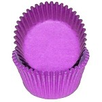 MINI Purple Cupcake Liners 100 Count