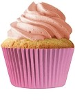 MINI Baby Pink Cupcake Liners 100 Count
