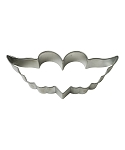 Heart Wings Cookie Cutter 4.75