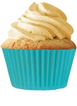 Turquoise Standard Cupcake Liners 30 Count