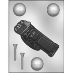 Golf Bag  Ball Chocolate Mold