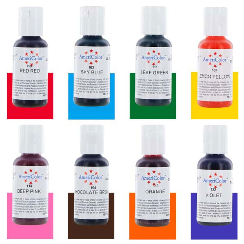 Americolor Gel Colors