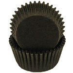 MINI Black Cupcake Liners 100 Count