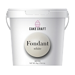 White Cake Craft Fondant 11 Lbs