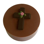 Cross w/ Rose Cookie Mold