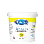 Satin Ice Yellow Fondant 2LB