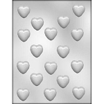Bite Size Heart Chocolate Mold 1 1/8 size