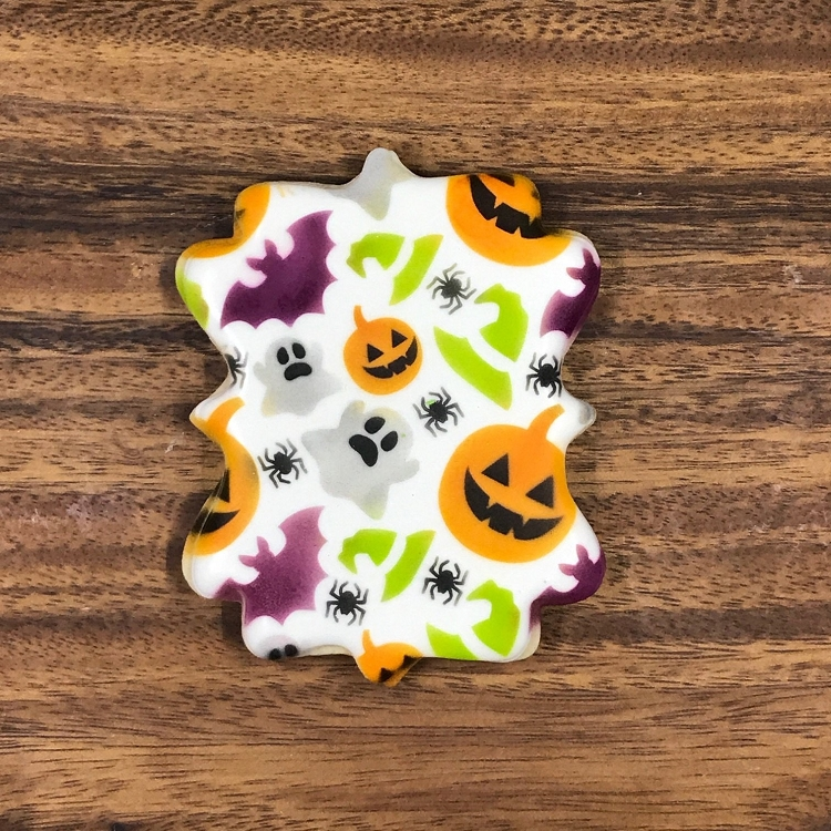 The Cookie Countess Cookie Stencil Halloween 2pc Set