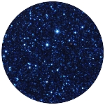 Navy Blue Disco Dust