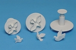 Dove Plunger Cutter Set of 3