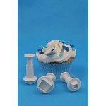 PME Mini Square Shape Plunger Set