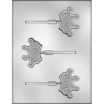 Crown Sucker Chocolate Mold
