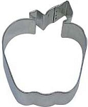 4 Inch Apple Cookie Cutter