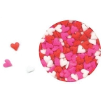 Mini Hearts Red, White, & Pink Assortment Quins 5.2oz