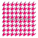 Hounds Tooth Cookie Stencil