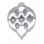 Embossed Ornament Cookie Cutter 3 1/2