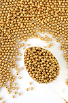 Sweetapolita Luxe Sprinkles-6mm Gold Dragees