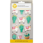Cactus Party Royal Icing Set