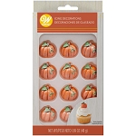 Shimmer Pumpkin Icing Decorations