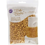 Wilton Gold Cake Sequins 10oz