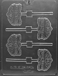 Sweet Sixteen Sucker Chocolate Mold