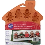 Wilton Treat Mold: Gingerbread Man