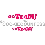 Go Team! Cookie Stencil