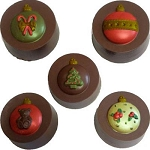 Ornament Oreo Chocolate Mold