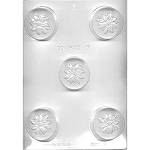 Poinsetta Oreo Chocolate Mold