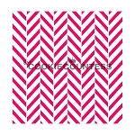Double Chevron Cookie Stencil