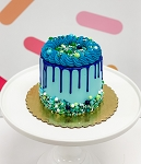Blue Drip DIY Cake Kit- Makes TWO Cakes!