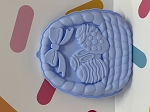 Easter Basket Breakable Silicone Mold