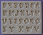 Party Font Alphabet Silicone Mold