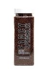 Fancy Sprinkles- Brownie Flavored Crunchy Jimmies 8oz
