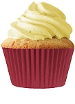 Burgundy Standard Cupcake Liners 30 Count
