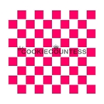 Checkered Print Cookie Stencil