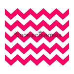 Chevron Thick  Cookie Stencil