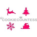Christmas 4 Some Cookie Stencil