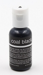 Chefmaster Liqua Gel 0.70oz : Coal Black