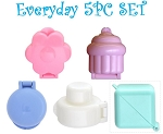 Cake Pop Mold Everyday Set 5 PCS
